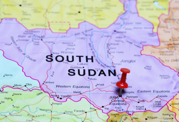 Latest South Sudan Travel Warnings Alerts - Republic of the sudan map
