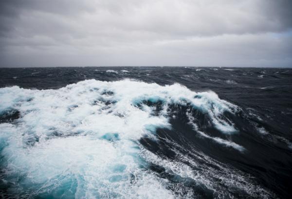Rough Seas in the Antarctic