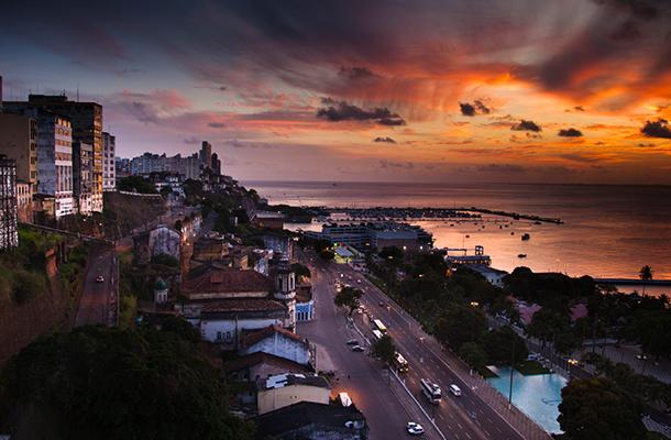 Salvador sunset
